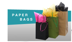 Paper bags - Custom paper bags personalized with your company logo